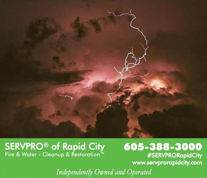 Storm Damage When Storms or Floods hit, SERVPRO of Rapid City is ready!