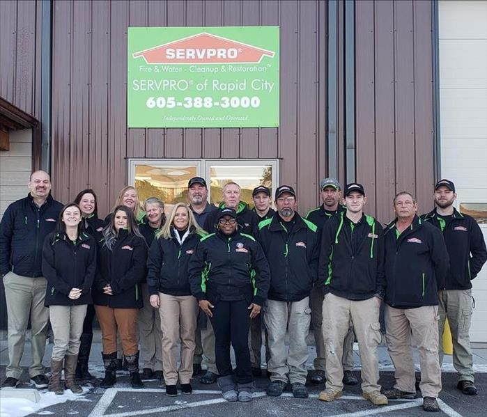 SERVPRO of Rapid City updated team photo